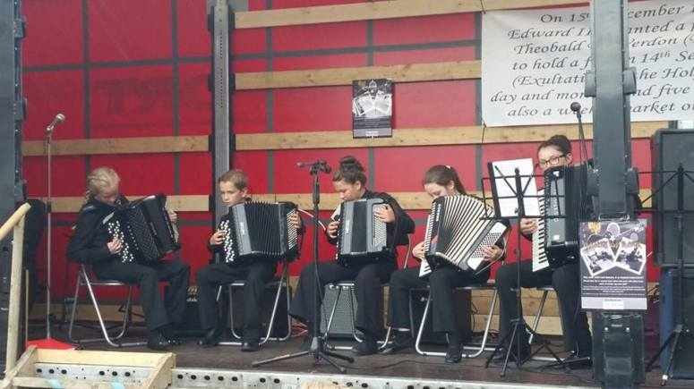 Ensemble time at Duleek Fair 2016