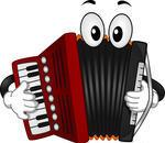 mascot-illustration-of-an-accordion-pressing-the-keys-of-its-keyboard_119828341